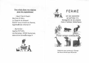 Plaquette FERME