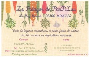 Carte Potager de Pautilou